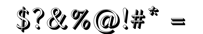 Linux Biolinum Shadow Font OTHER CHARS