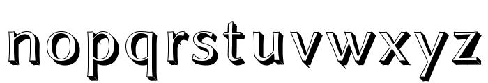 Linux Biolinum Shadow Font LOWERCASE