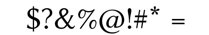 Linux Biolinum Font OTHER CHARS