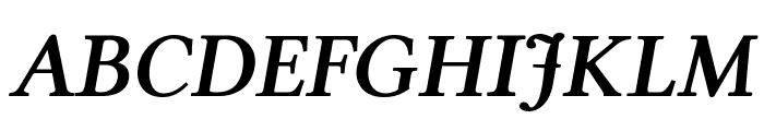 Linux Libertine Bold Italic Font UPPERCASE