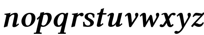 Linux Libertine Bold Italic Font LOWERCASE