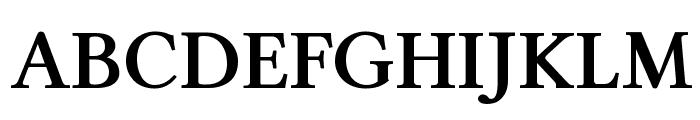Linux Libertine Bold Font UPPERCASE