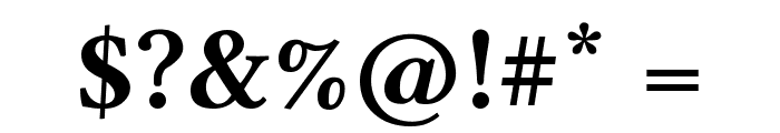 Linux Libertine Capitals Bold Font OTHER CHARS