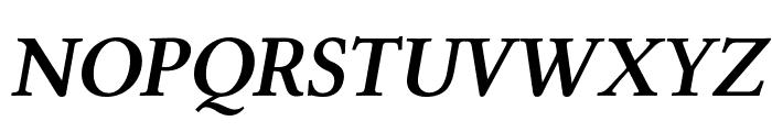 Linux Libertine Capitals Semibold Italic Font UPPERCASE
