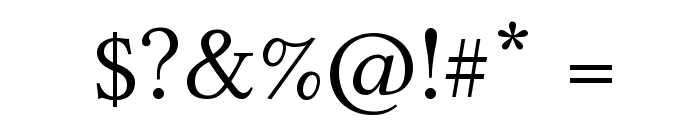 Linux Libertine Capitals Font OTHER CHARS