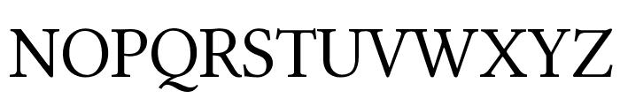 Linux Libertine Capitals Font UPPERCASE