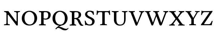 Linux Libertine Capitals Font LOWERCASE