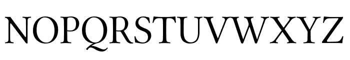 Linux Libertine Display Capitals Font UPPERCASE