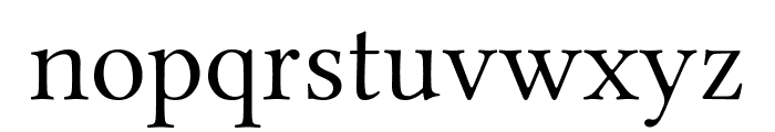 Linux Libertine Display Font LOWERCASE