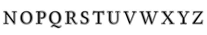 Linux Libertine Initials Font UPPERCASE