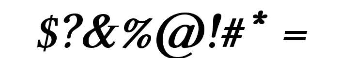 Linux Libertine O Bold Italic Font OTHER CHARS