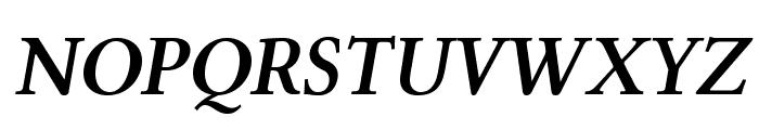 Linux Libertine O Bold Italic Font UPPERCASE