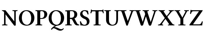 Linux Libertine O Bold Font UPPERCASE