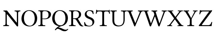 Linux Libertine O Font UPPERCASE