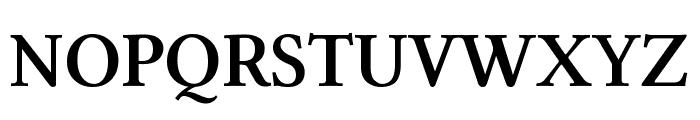 Linux Libertine Semibold Font UPPERCASE