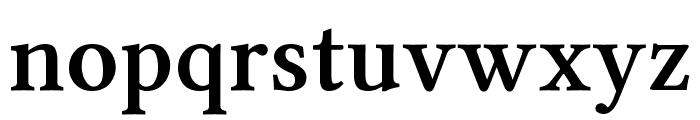 Linux Libertine Semibold Font LOWERCASE