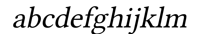 Linux Libertine Slanted Font LOWERCASE