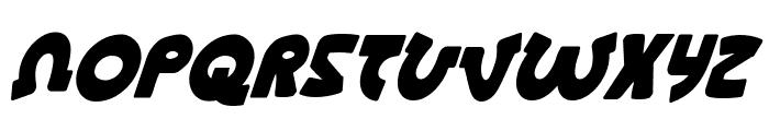 Lionel Condensed Italic Font LOWERCASE