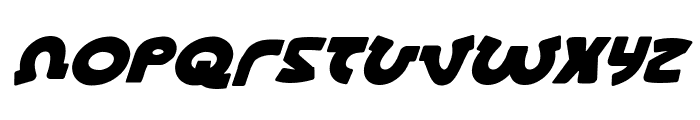Lionel Italic Font UPPERCASE