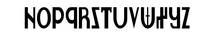 Lionheart Condensed Font UPPERCASE