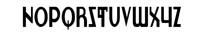 Lionheart Condensed Font LOWERCASE