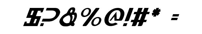 Lionheart Italic Font OTHER CHARS