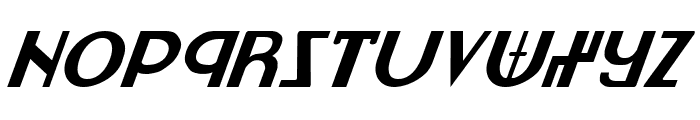 Lionheart Italic Font UPPERCASE