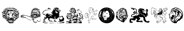 Lions Font OTHER CHARS