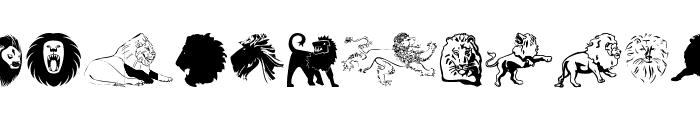 LionsClub Font UPPERCASE