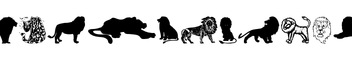 LionsClub Font LOWERCASE