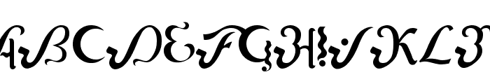 Lipi Font UPPERCASE