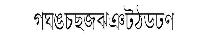 LipiCon Font UPPERCASE