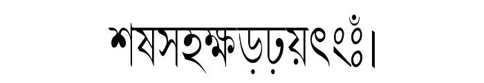 LipiCon Font LOWERCASE