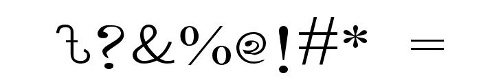 LipiExpand Font OTHER CHARS