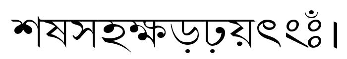 LipiExpand Font LOWERCASE