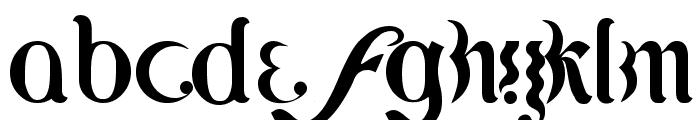 Lipi Font LOWERCASE