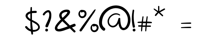 Lipograf Regular Font OTHER CHARS