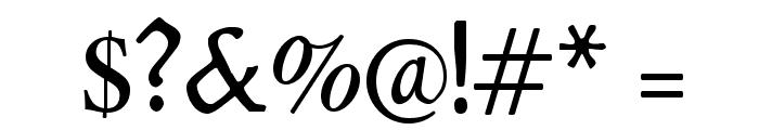 Lipsiantiqua-Regular Font OTHER CHARS