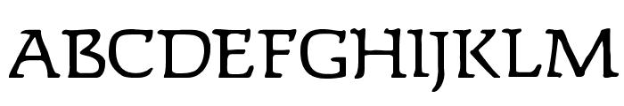 Lipsiantiqua-Regular Font UPPERCASE