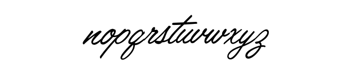LisbonScript-Regular Font LOWERCASE