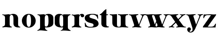 Lissain Font LOWERCASE