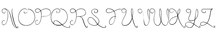 Listening Font UPPERCASE