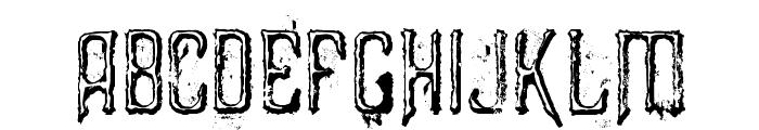 Liszthius-Alkimista Font LOWERCASE