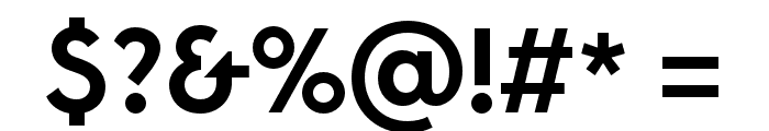 LitSans Medium Font OTHER CHARS