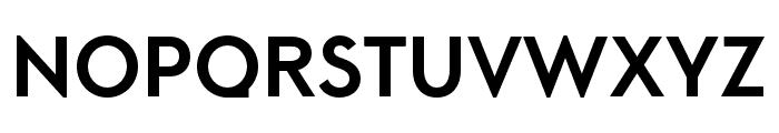 LitSans Medium Font UPPERCASE