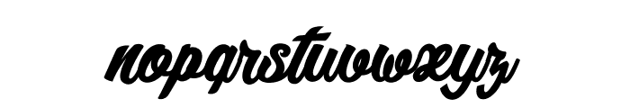 Litchis on Velvet_PersonalUseOnly Font LOWERCASE