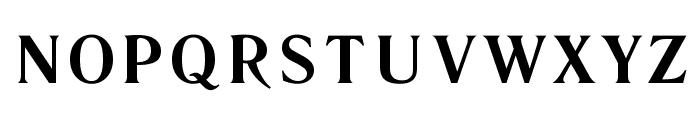 Literaturnaya Book Font UPPERCASE