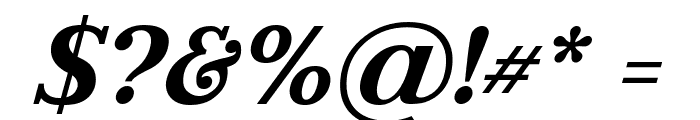Litoland Italic Font OTHER CHARS