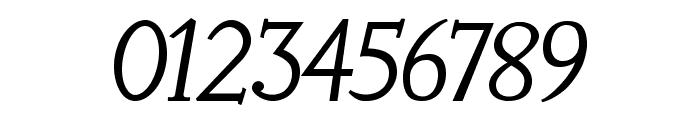 LitosScript-SemiBoldItalic Font OTHER CHARS