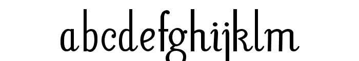 LitosScript-SemiBold Font LOWERCASE